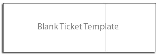 Image result for what is blank ticket templates?