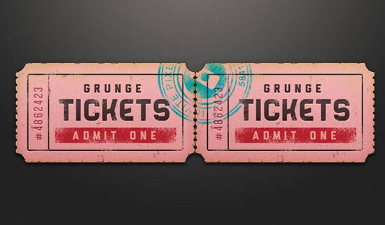 ticket-free-psd