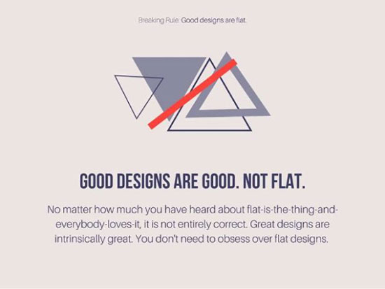 Design Rules You Should Be Breaking In 2016 - 3