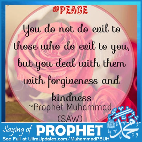 Prophet Muhammad Quotes about peace