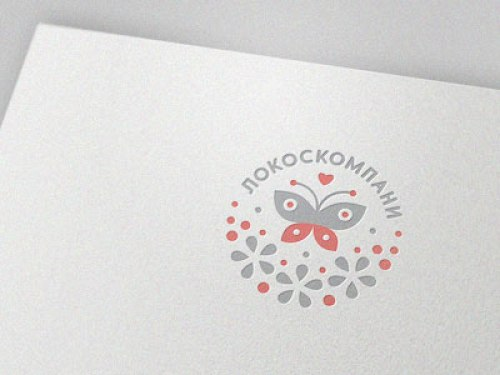 butterfly logo for brand