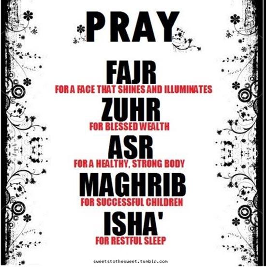 five pray
