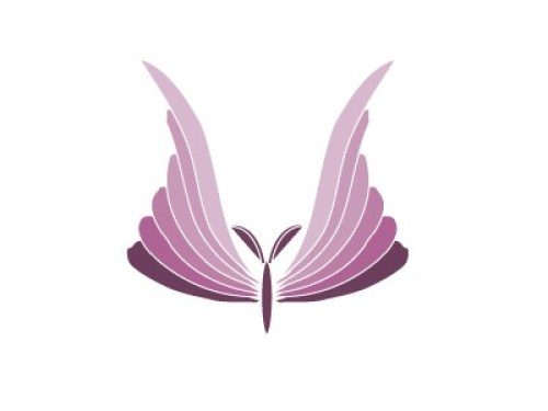 unqiue butterfly logos
