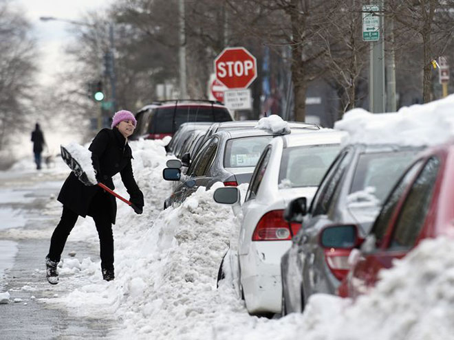 Incredible Photographs of New York City Winter Storm-c