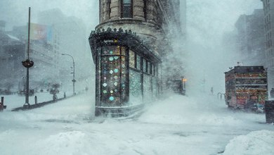 "Photo of 28+ Incredible Photographs of New York Winter Storm 2016 ""Blizzard"""