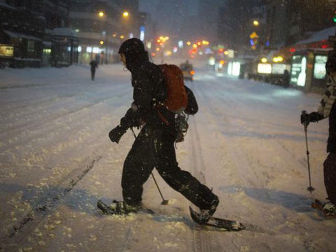 New York City Winter Storm 2016 Blizzard