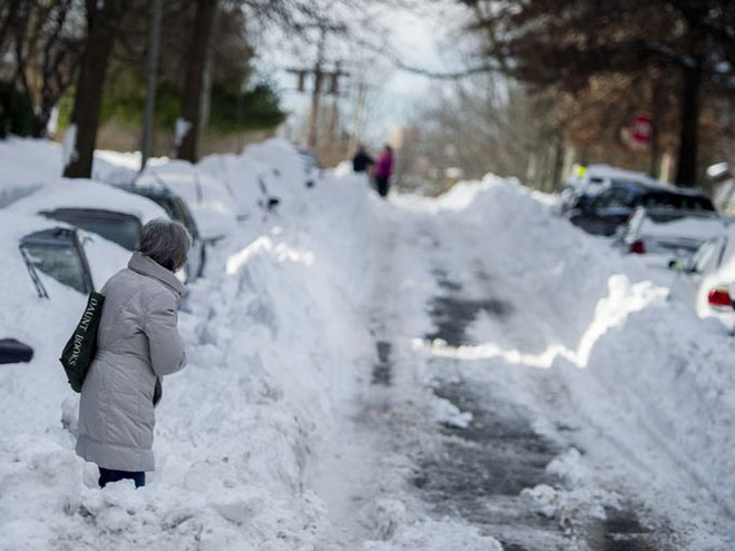 Photographs of New York City Winter Storm 2016 Blizzard