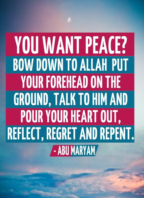 allah images with quotes about peace
