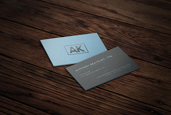 AK Business Card Design