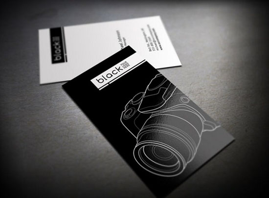 Minimalist Business Card by Mihai Ursu