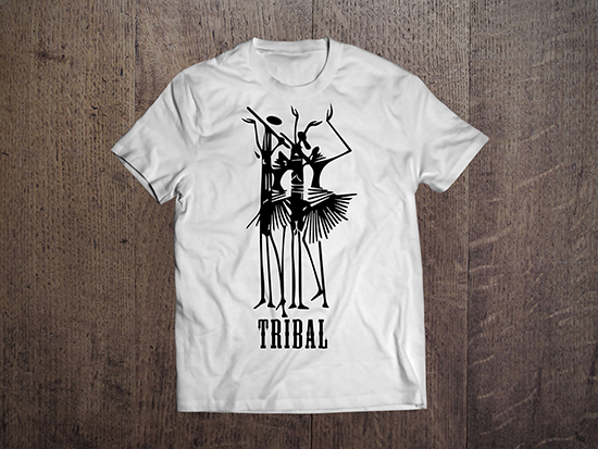 t shirt design vector free