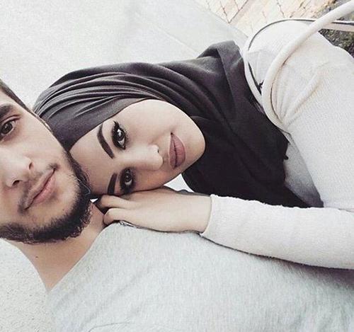 Selfies of couples