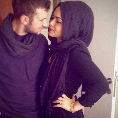 hot couple selfie