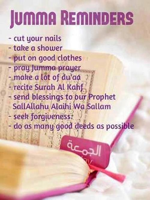 jumma mubarak message