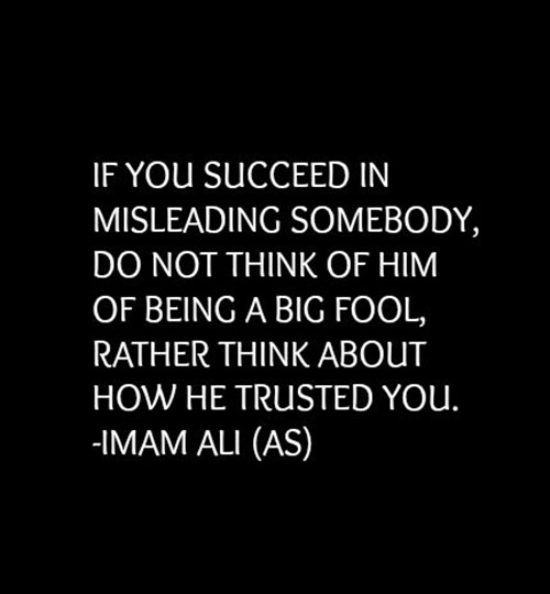 saying of imam ali