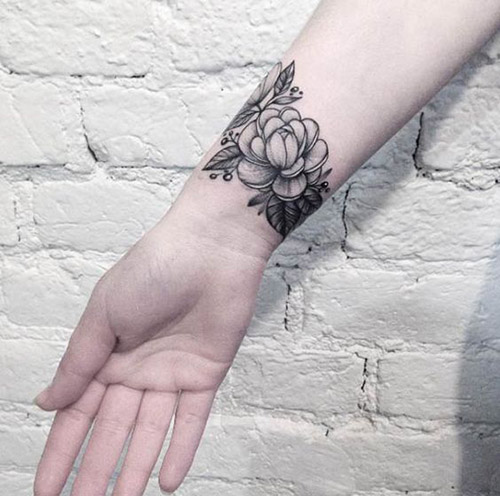 Wrist Band Tattoo For Women
