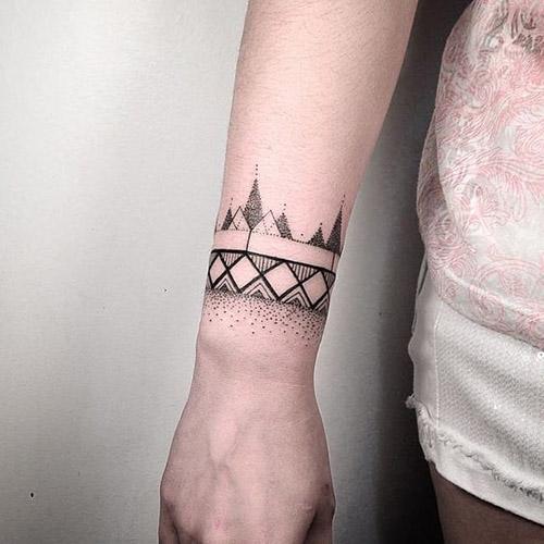 wristband tattoos 5