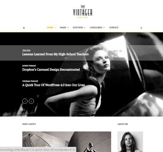 The Blog - Minimal Blogging Experience