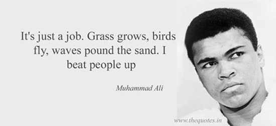 best muhammad ali saying