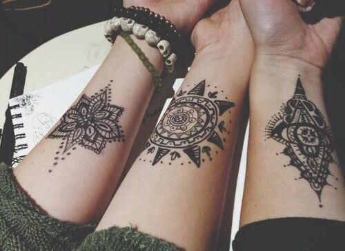 easy henna designs for kids and teens