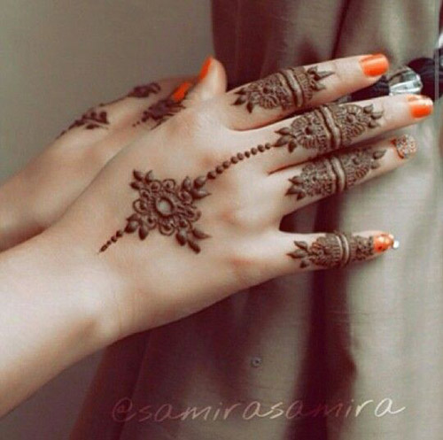 easy henna designs ideas for fingers