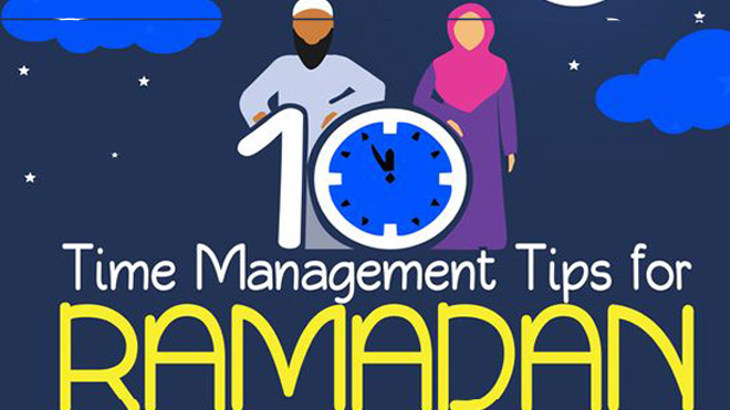 how to manage you ramadan timing