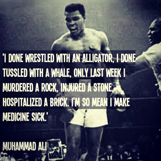muhammad ali saying 2