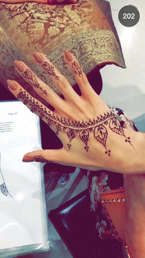 simple henna designs for finger
