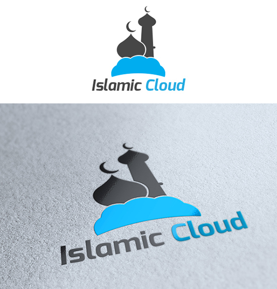 Islamic Cloud Logo Template