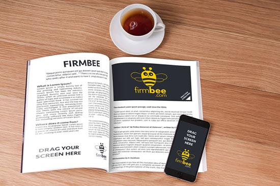 Magazine-Newspaper-free-PSD-mockup