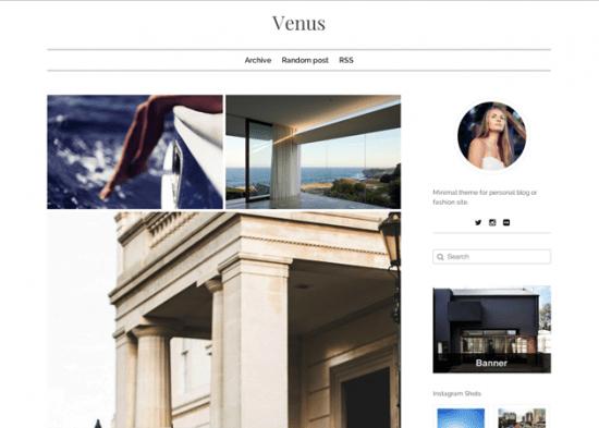 Venus - Simple Tumblr Theme.png