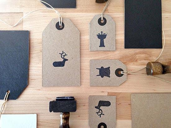 cardboard Branding Hang Tags
