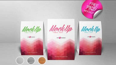 Photo of 20+ Table Tent Card Mockups & PSD Templates