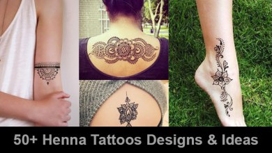Photo of 50+ Henna Tattoos Designs & Ideas (Images For Your Inspiration)