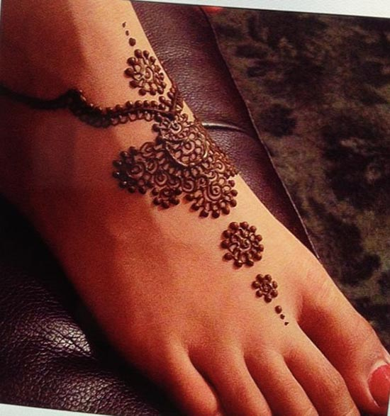 best henna tattoos designs for feet