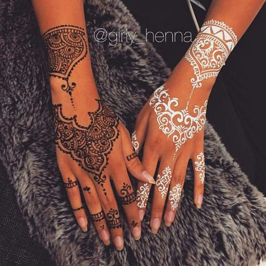 best henna tattoos ideas for hand