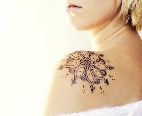 henna tattoos designs for shoulder