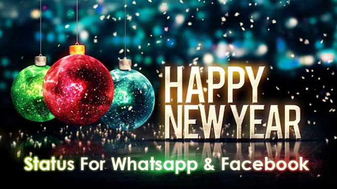 Best Happy New Year 2017 Status for Whatsapp Facebook