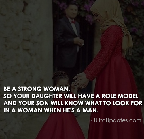 be a strong woman quote