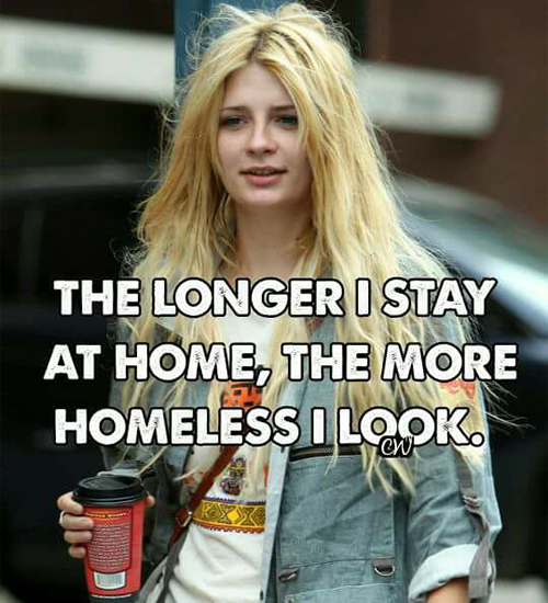 homeless woman quotes