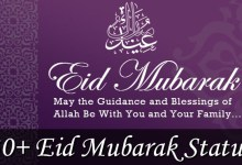Photo of 30+ Eid Mubarak Status, Captions and Greetings 2021 – Photos