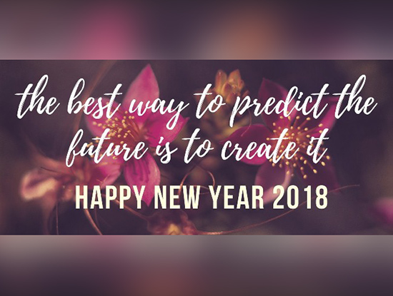 happy new year 2018 motivational quotes