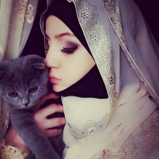 cute muslim girl dps