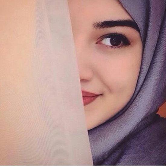 nice muslim girl dp