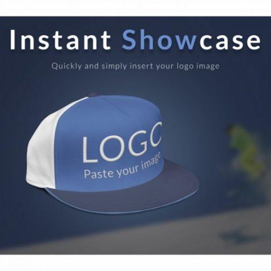 Cap with logo mock up Free Psd
