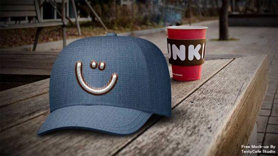 Free Dad Hat Mockup Template Psd 2