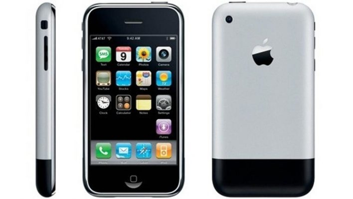 The original iPhone from 2007