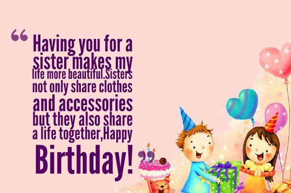 birthday wishes for sister quotes happy birthday to my sister ha