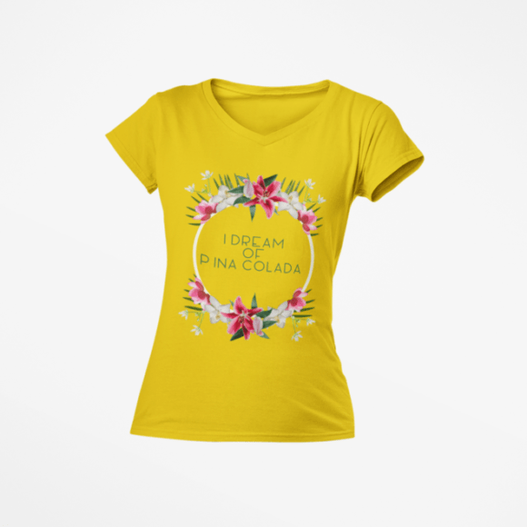 mockup-of-a-woman-s-v-neck-ghosted-t-shirt