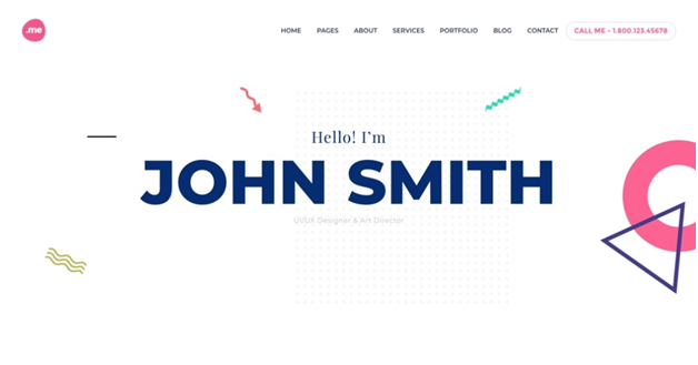 me wp theme for online resume